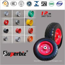 4.10/3.50-4 Heavy Duty Solid Tire for Trolley/Wheelbarrow