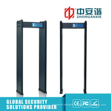 LED Human Indicating Lamp 50 Working Frequency Door Frame Metal Detector