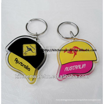 the well selling key chains,nice shape opener