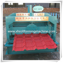 Glazed Roof Tile Roll Forming Construction Machine Tile Machine For Sale