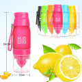 Sports Water Bottle 22oz H2O Multi Color Fruit Lemon Drinking Bottle No Minimum