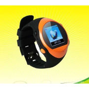 Gps Tracking Wrist Watch Phone Support Sos Alarm Clock Sms Call Pc