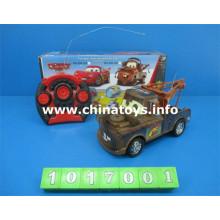 Venda quente de Plástico Brinquedos 4-CH R / C Car (1017001)