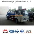 4cbm модели сточных вод всасывания танкер грузовик dongfeng