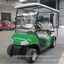 Chariot de golf électrique 4 places utilisé club de golf