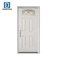 Роскошный, классический,высокой четкости,наружная панель декоративная сталь стеклянная дверь, Китай