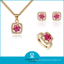Eternity 925 Sterling Silver Jewelry Set for Free Sample (J-0050)