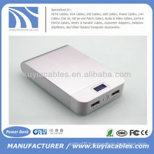 High Quality 11000mAh Portable Power pack Mobile Charger Power Bank For Iphone Samsung HTC Nokia