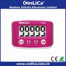 Instruções baratas para usar o pedômetro de calorias uso pedômetro idoso T93