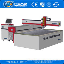 Hohe Genauigkeit CE-Zertifikat 1500x2500mm Wasserstrahl Glasschneidemaschine