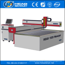 High accuracy CE certificate 1500x2500mm water jet glass cutting machine