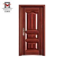 Puerta de hierro de entrada a prueba de sol de China