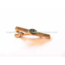 Police Tie Clip of Gold Plating Material