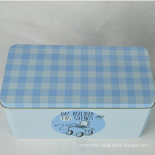 Wholesale Can Food Rectangle Metal Storage Box