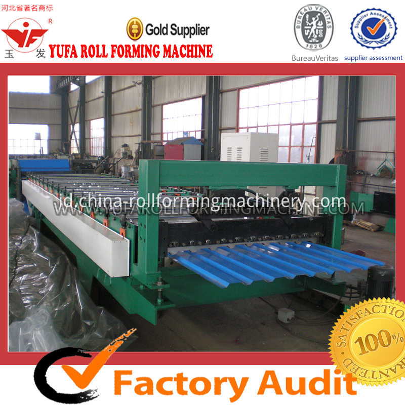 C8 Roof panel russia design roll forming machine