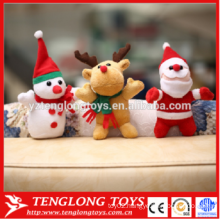 high quantity cute plush toys father Christmas toys Santa Claus toys Elk doll