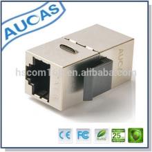 Fabricación cat6 ftp cable conector articulado / adaptador modular para conexión de cable lan precio bajo