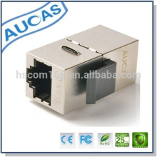Fabricação cat6 ftp cabo conector articulado / adaptador modular para conexão de cabo lan preço baixo