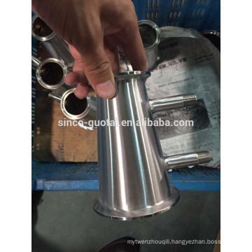 """304 316 concentric reducer with nipple 1/4"""" npt"""