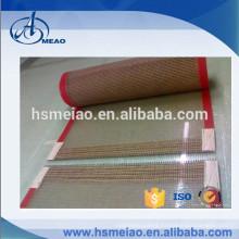 PTFE Teflon Hot-air dryer mesh conveyor belt