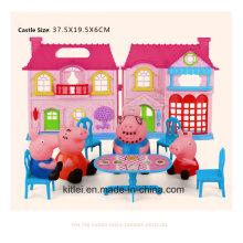 O porquinho peggy jogar casa para menina crianças brinquedos
