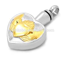 кулон хоккейного золота Alibaba экспресс ювелирные изделия сердца кулон ожерелье