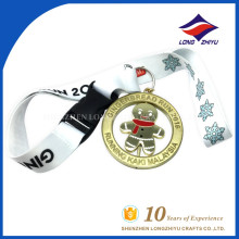 High quality custom unique detachable medal strap for metal medal