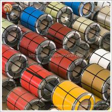 Hohe Haftfestigkeit und Präzision Farbbeschichteter Stahl