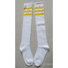 2014 Kompression Fußball Socken / Knie Hohe Lycra Socken / Kompression Fußball Socken