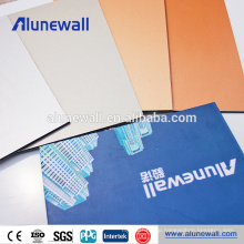 China supplier aluminum decorative texture boards panels alucobond acp prices