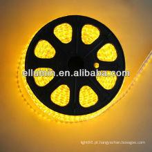 impermeável conduziu a luz de tira flexível de 5m 4.8w / m dc12v 3528