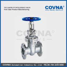 Válvula de compuerta de vástago de acero fundido de elevación