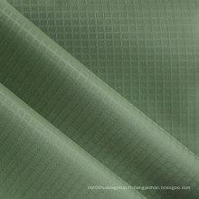 Polyester Grid Twill Oxford Fabric Tissu en polyester PVC / PU Polyester