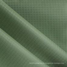 Poliéster Grid Twill Oxford tecido PVC / PU poliéster Twill tecido