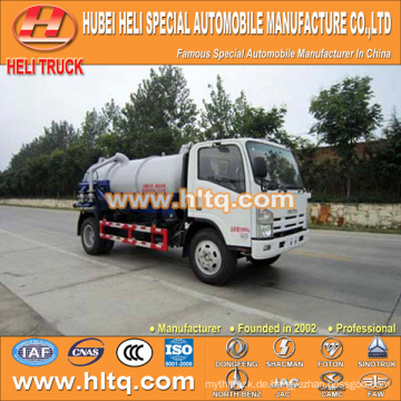 JAPAN Technologie 4x2 6000L Vakuumtanker LKW 4KH1-TCG40 120hp