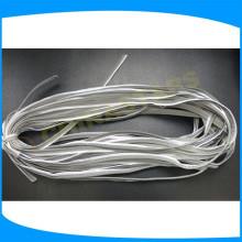 Cor cinza alta visibilidade segurança brilho tubulação, reflexivo vinculativo para vestuário