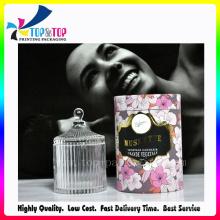 2016 Unique Design Cylinderical OEM Perfume Paper Box