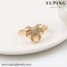 64041-18k vergoldet saudi-arabien modeschmuck liebe herz diamant-sets
