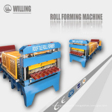hydraulic automatic galvanized roofing sheet roll forming machine made in china