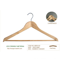Recyclable Bamboo Eco material Clothes Hangers