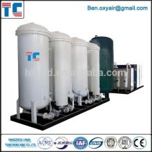 Usine de production de nitrogène PSA avec homologation CE