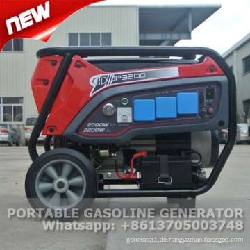 Tragbarer Benzingeneratorpreis 2kw mit CER und GS