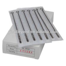 50 10RS Sterile Einweg Tattoo Nadel Maschinengewehr Set Versorgung Kit Runde Shader