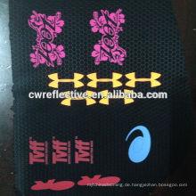 Dongguan reflektierende Eisen auf Transferfolie für Sportbekleidung