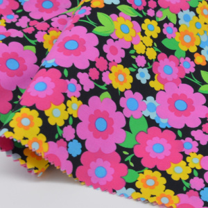 55 Bomull 45 Polyester Plain Printed Fabric
