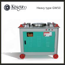 Tipo pesado GW50 acero barra redonda dobladora