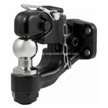 PINTLE HOOK ball mount and hitch ball
