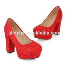 red bride shoes heels