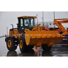 Pá Carregadeira de Rodas XCMG Frontal (LW500FN / ZL50G)