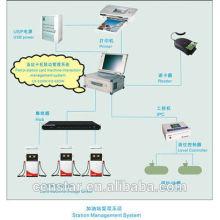 sistema de óleo combustível de alto posto eficiente operação fácil